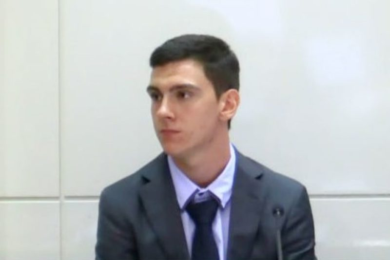 Dylan Voller gives evidence