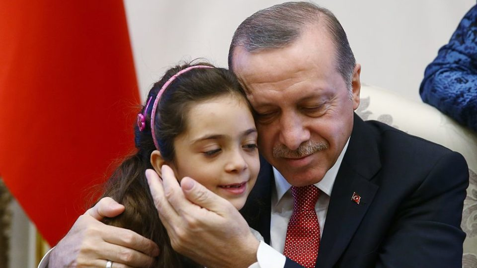 Bana Alabed meets Turkey president