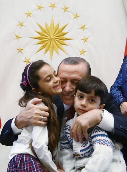 ERdogan meets Bana Alabed