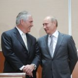 Rex Tillerson and Vladimir Purtin