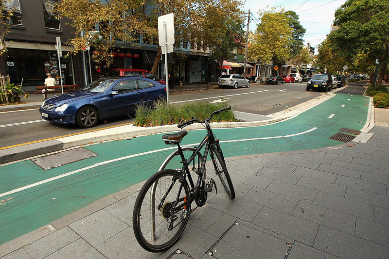 Australian cycling infrastructure compared with Copenhagen