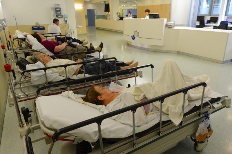 TV services public hospitals