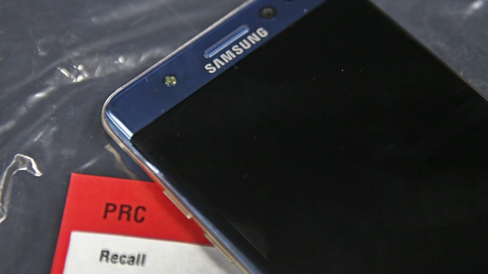 Samsung Note 7 explosion report