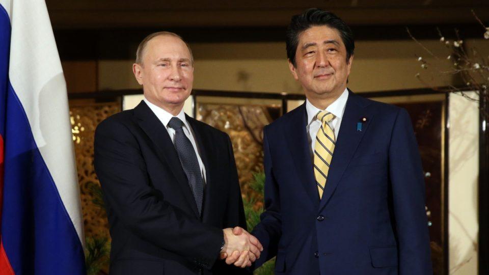 Vladimir Putin Shinzo Abe