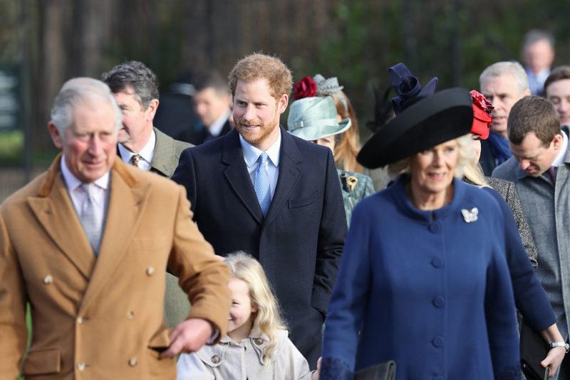 Royal family Christmas service 2016