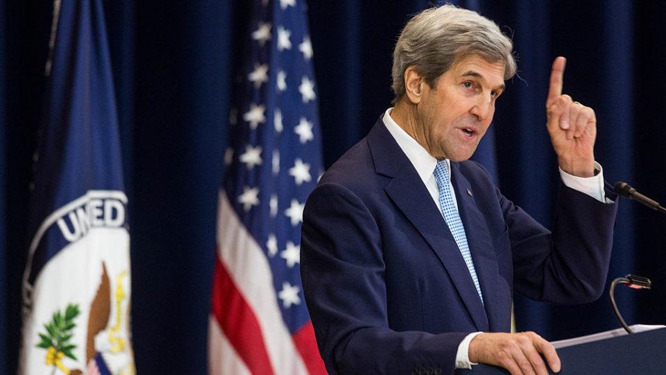 John Kerry Middle East speech angers Israel