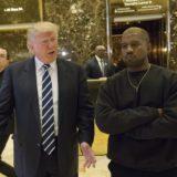 Kanye West meets Donald Trump