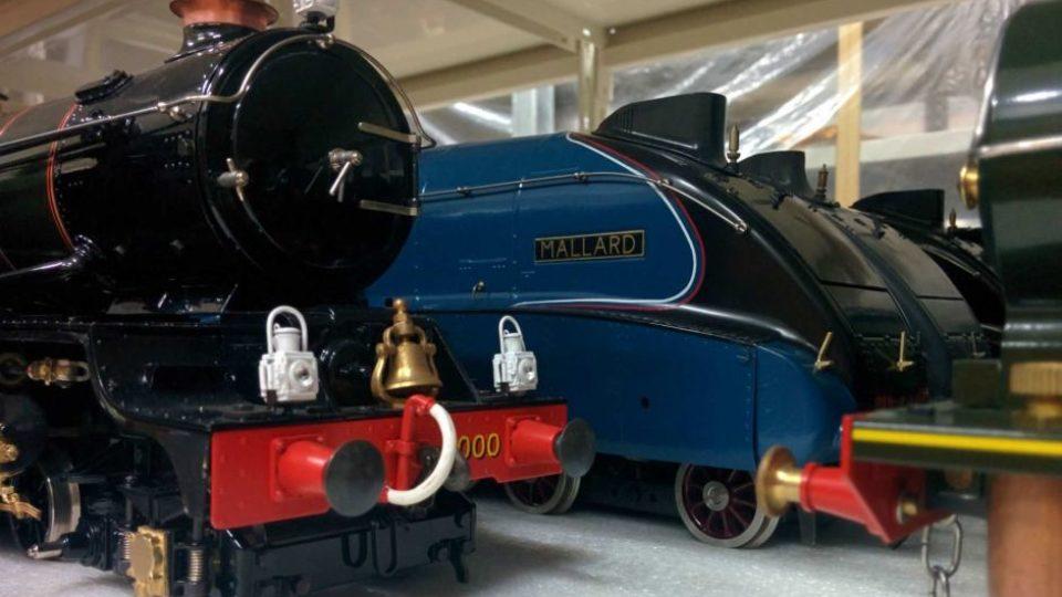 4-6-2 A4 class locomotive