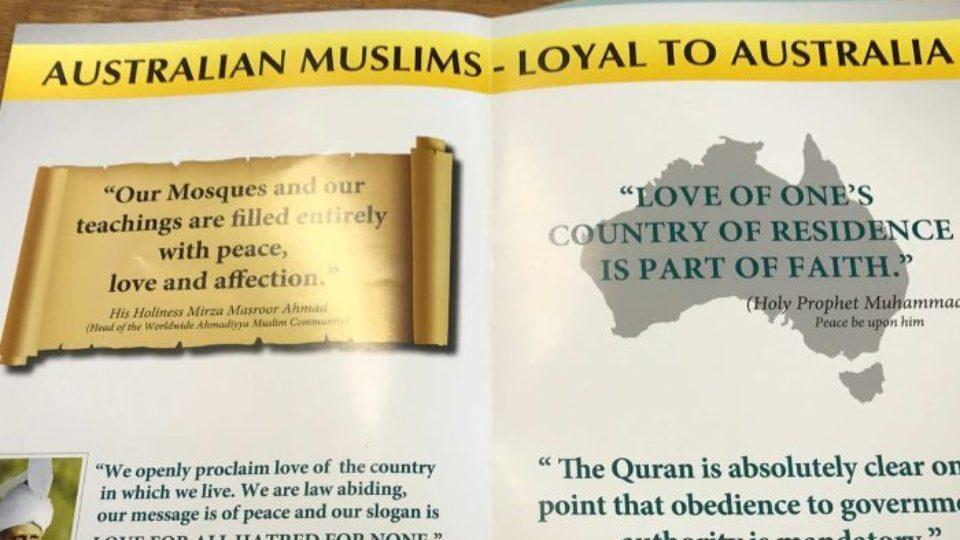 Muslims letter drop Hobart households