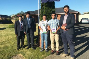 Muslims letter drop Hobart