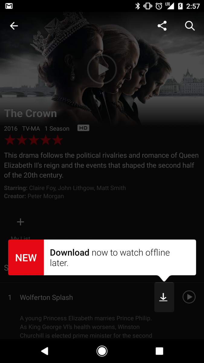 How to download Netflix content and watch it offline