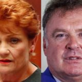 Pauline Hanson and Rod Culleton