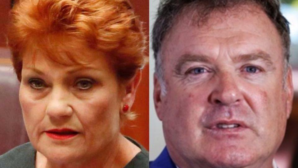 Pauline Hanson and Rod Culleton