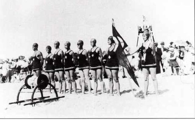 women mooloolaba surf life saving
