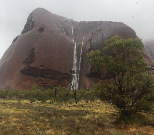 Uluru national park closed due to flooding