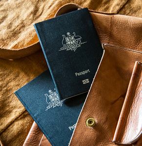 australian passport getty