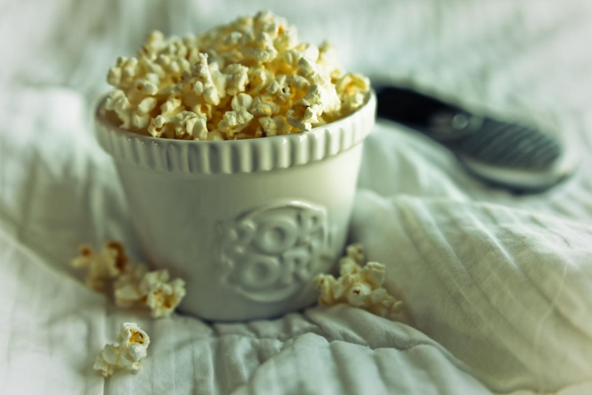 snacks popcorn