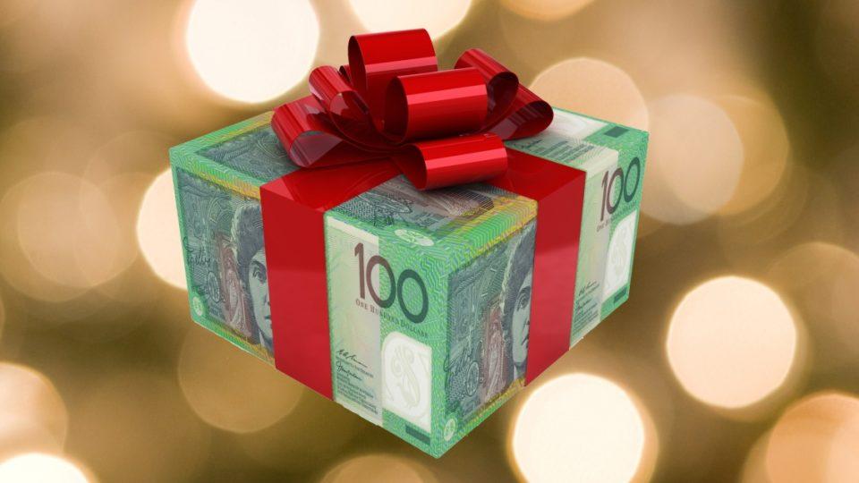 christmas cash gift