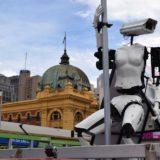 pole-dancing cctv robot