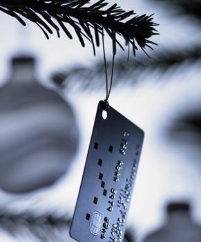 christmas credit card