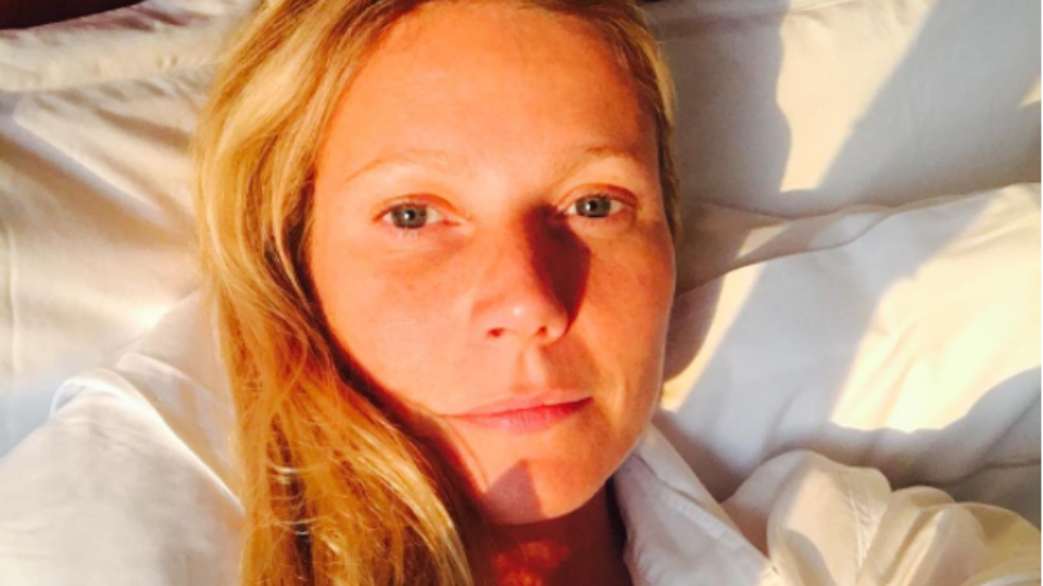 Gwyneth Paltrow has some unexpected sleep tips for you.