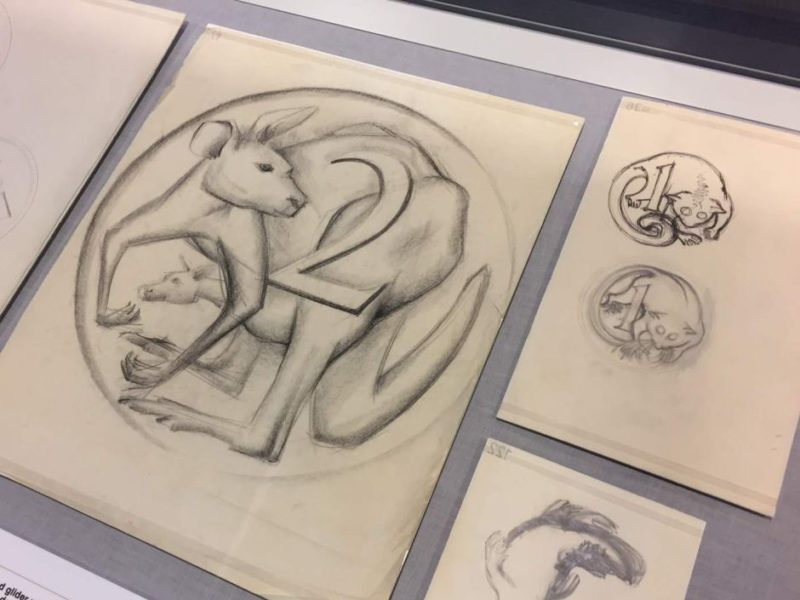 The original design for Australia's two cent piece featured a kangaroo and joey. Photo: Ian Cutmore