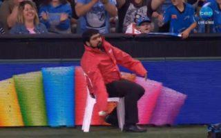 Vikas Chhikara take a classic catch