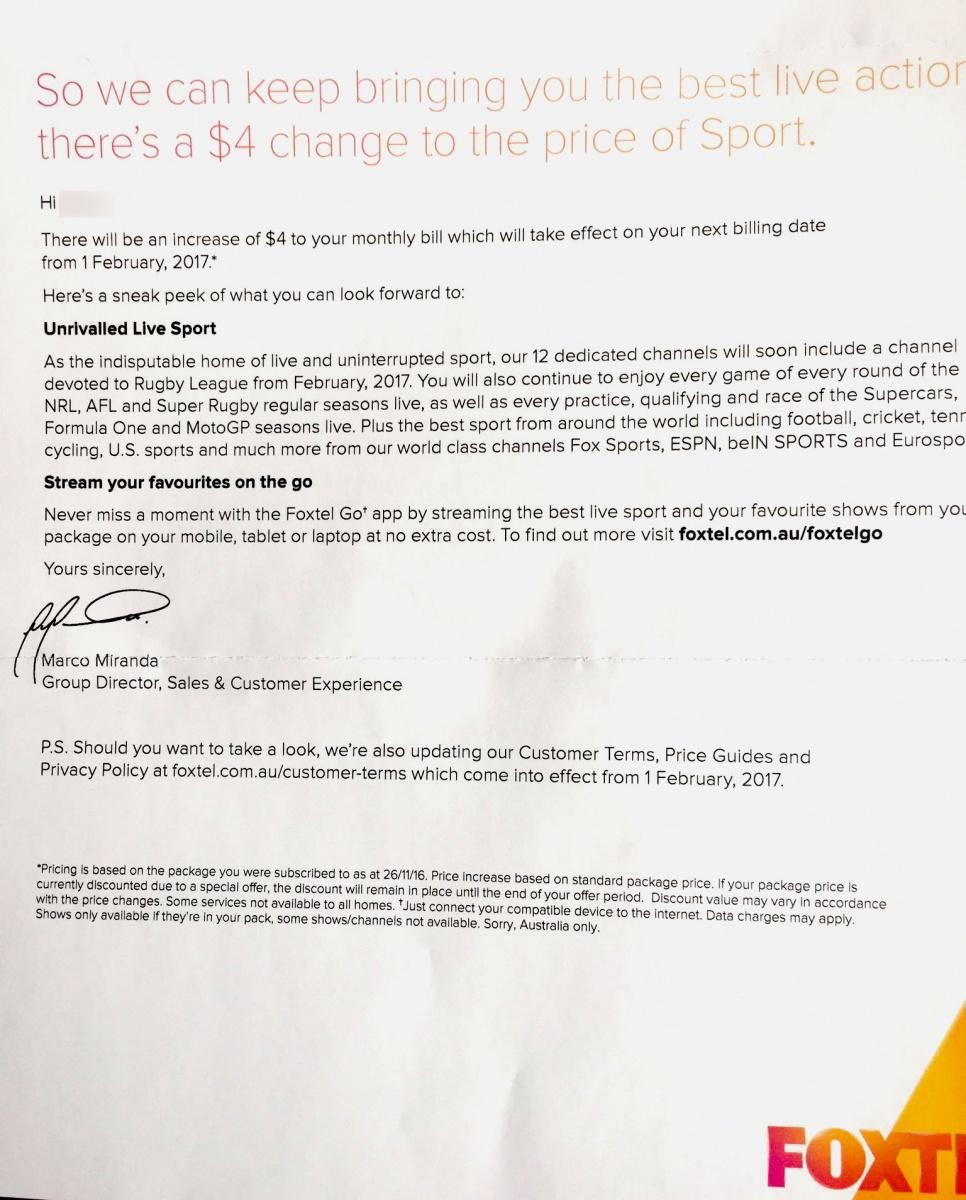 Foxtel Announces 16 Per Cent Price Rise Prompting Outrage