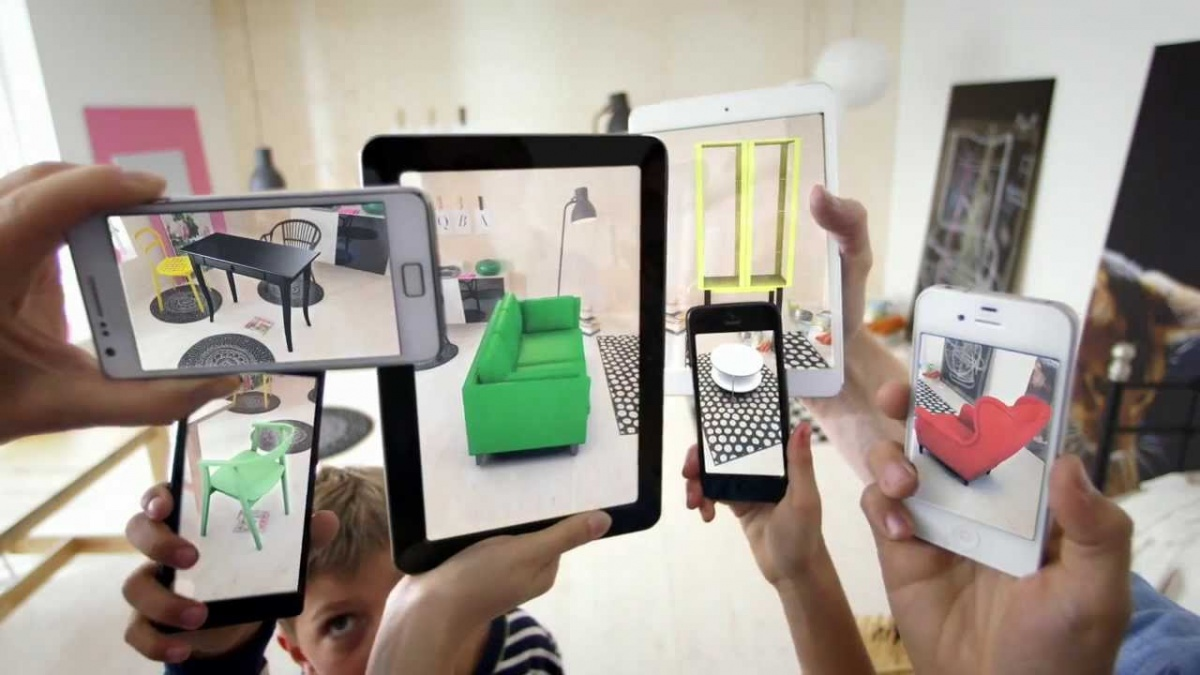 Ikea's Catalogue app lets you decorate your home without buying a single item of furniture.