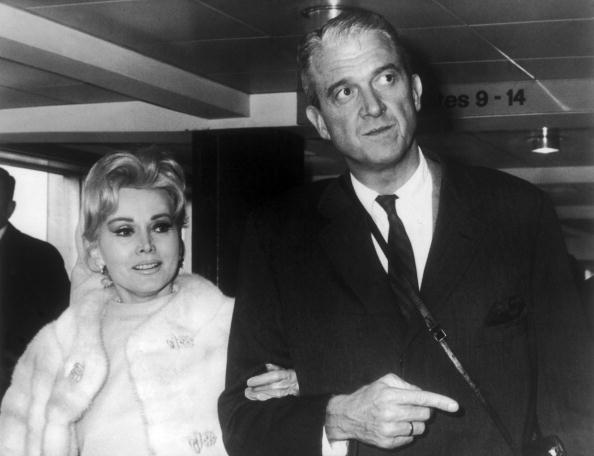 Zsa Zsa Gabor And Her 5Th Husband, Joshua Cosden 1966