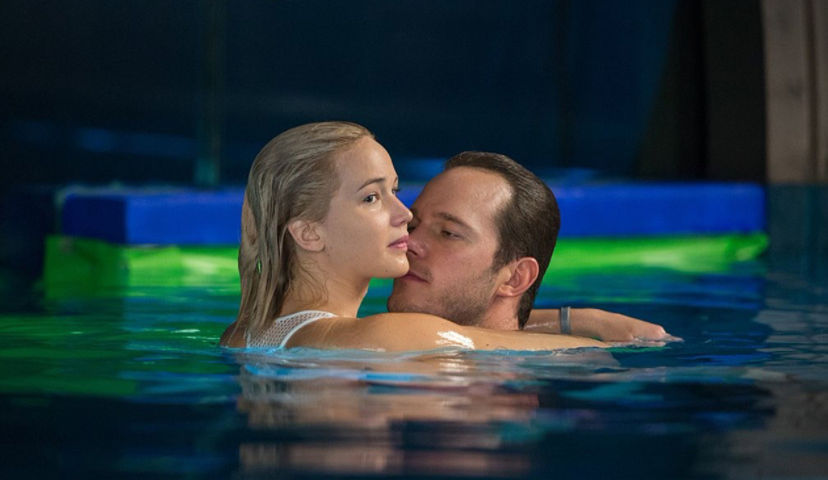 A smart film could have dealt with the dark message inherent in Passengers. Photo Village Roadshow