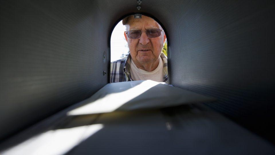 pensioner letterbox