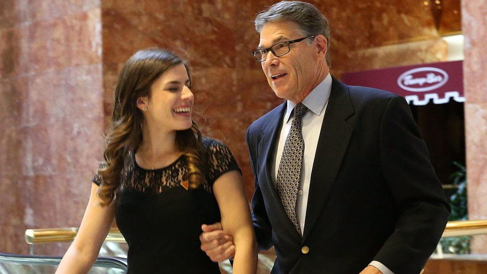 Rick Perry energy department head