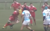 Rugby player banned for hit on referee