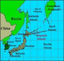 Japan Russia disputed islands