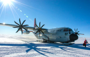 South Pole LC-130