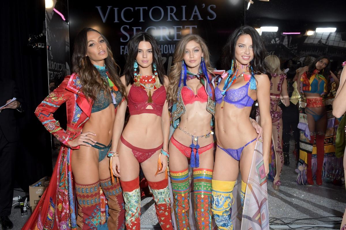 victorias secret show models