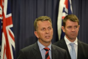 Andrew Constance candiate to replace NSW Premier Baird
