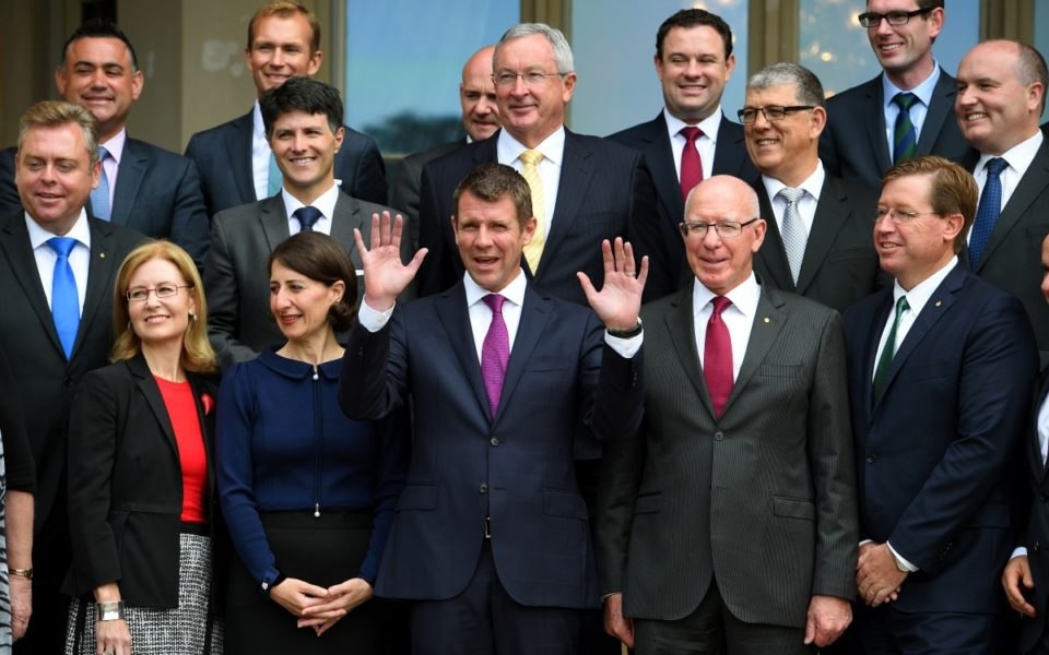 Who will replace Baird as NSW Premier?