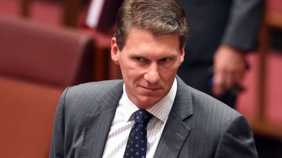 Cory Bernardi anti-islam dinner