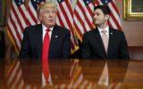 trump and ryan during tariffs talks