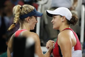 Ash Barty Angelique Kerber