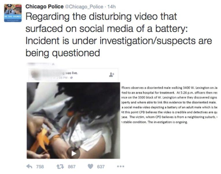 live facebook torture session