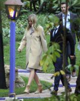 Gwyneth Paltrow at Fisher Reynolds memorial service