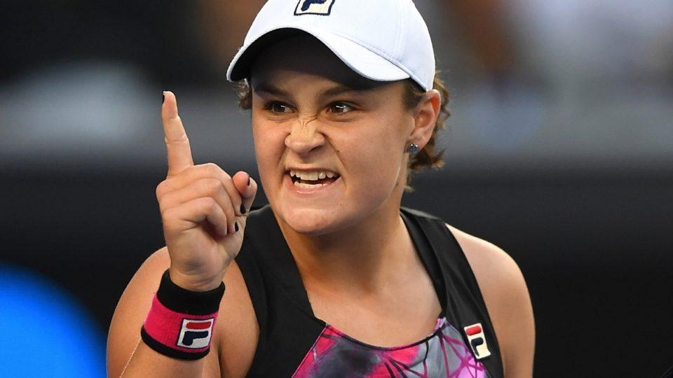 Ash Barty Australian Open