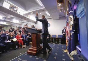 Obama White House farewell
