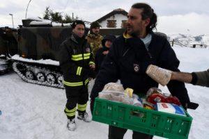 Italy earthquakes 2017