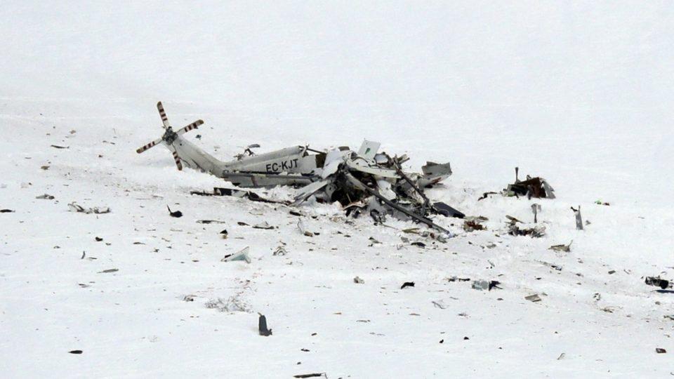Italian Alps helicopter crash