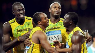 Olympic relay Usain Bolt Nesta Carter
