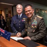 Australian Indonesia military
